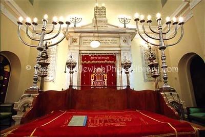 GREECE, Thessaloniki. Monasteriotes Synagogue. (2004)