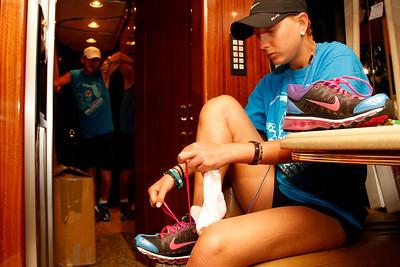 """03-20-11 """"Walk In My Shoes"""" Marathon by Omar Vega"""