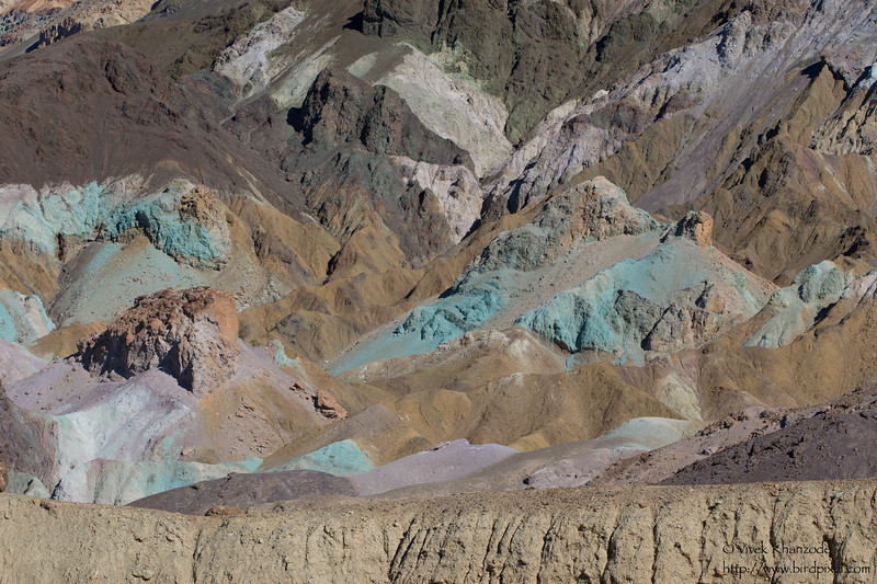 Artist's Palette - Death Valley National Park, CA, USA