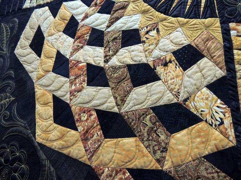Detail of Roman Tiles by Ann Petersen, First Place