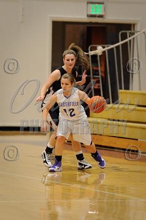 MHS vs Roseburg - Girls Basketball - Dec 8, 2009