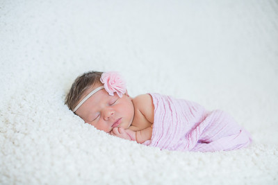 Newborn Everly and family Photographs at home in San Diego