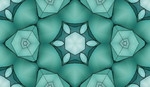 Geometric Textures - Tiles 13  trasparent bluegreen