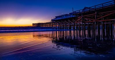 San Diego's Crystal Pier - Jan 22, 2020