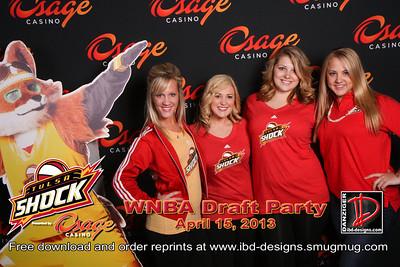 Osage Casinos WNBA Shock Draft Party 4-15-13