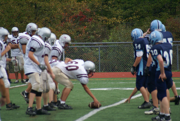 Millis Freshman Football vs. Medfield Freshmen Football