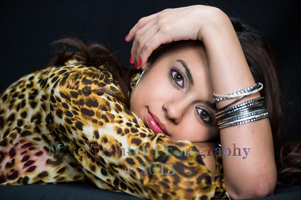 Alexis Ponce Senior Portrait THS 2014