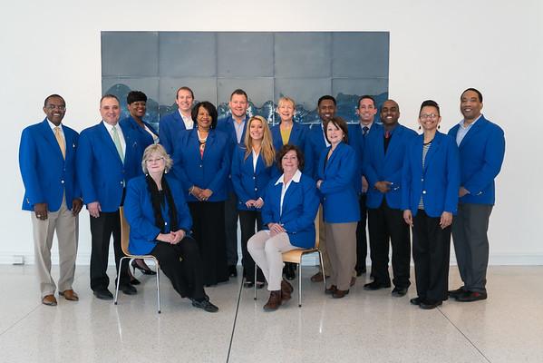 Memphis Chamber Ambassadors (Blue Coats)