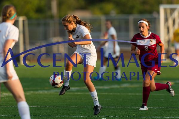 UAHS Girls Varsity Soccer vs. Watterson-8/27/15