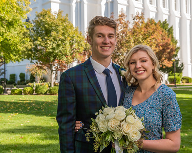 2019-10-21 Ethan & Lauren Poulton Sealing Day