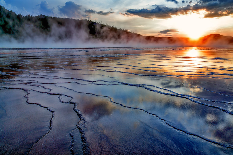 Grand Prismatic Sunset 3