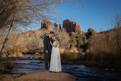 Sarah & Sergio's Sedona Wedding