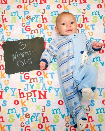 Braden Aaron - 3 Months Old