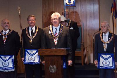 Jones City Lodge #537 Cornerstone Ceremony