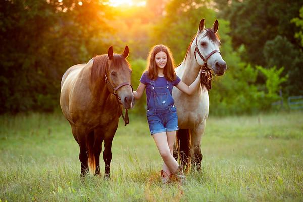 Sophie and Terri- Equine