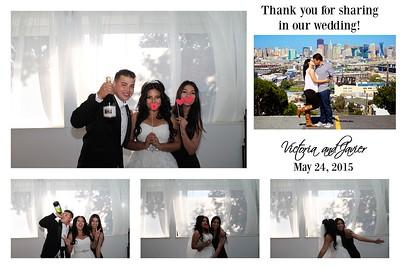 Victoria & Javier's Photobooth