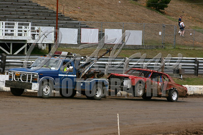 Coos Bay Speedway Dirt Oval - Aug 24, 2008