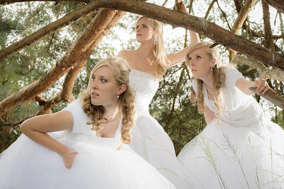 Rachel, Cecilia and Esther