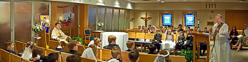 2009-04-25_First Communion Panoramas