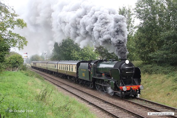 2019 October 5th, Great Central Railway autumn steam gala