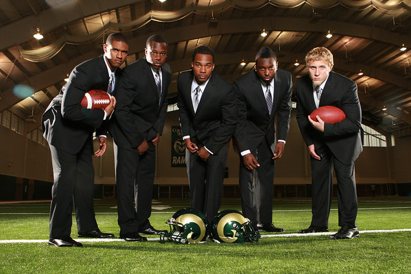 CSU Linebackers and RB's 2010