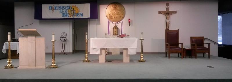 2015 Mar Lent Altar