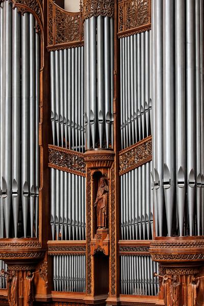 Pipe Organ Rack