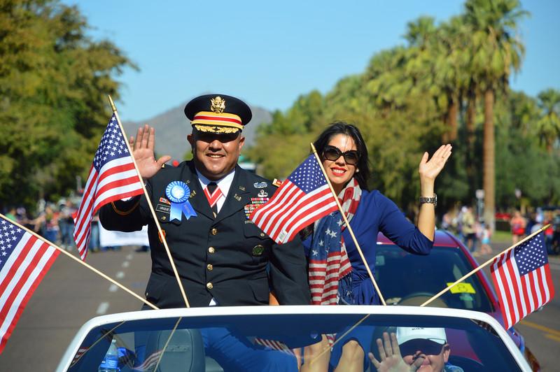 The Phoenix Veterans Day Parade