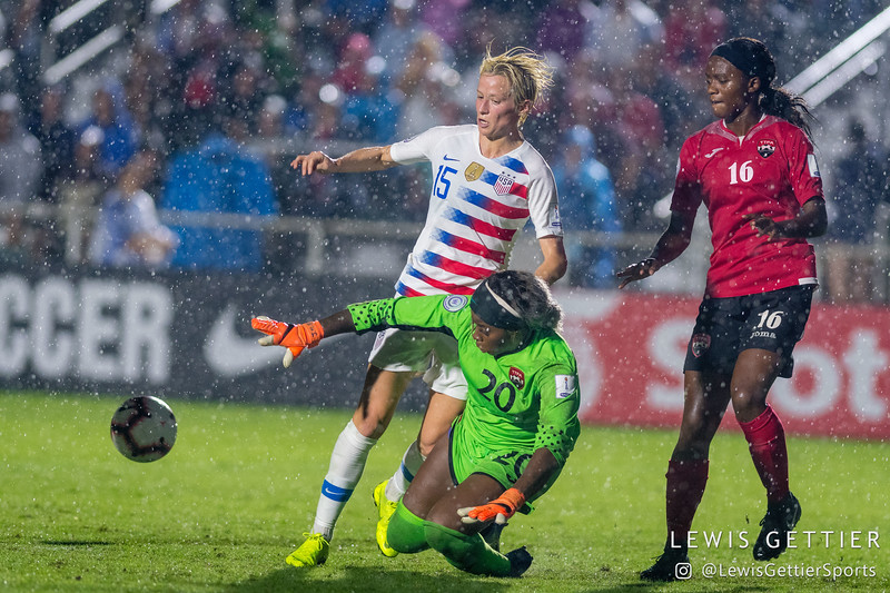 Trinidad and Tobago vs USWNT 10-10-2018