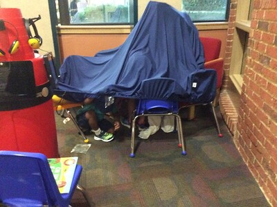 Family Fort Building Night 2019