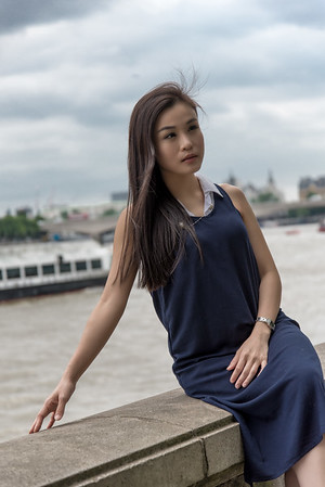 Along the Thames with Chrissandra Wong