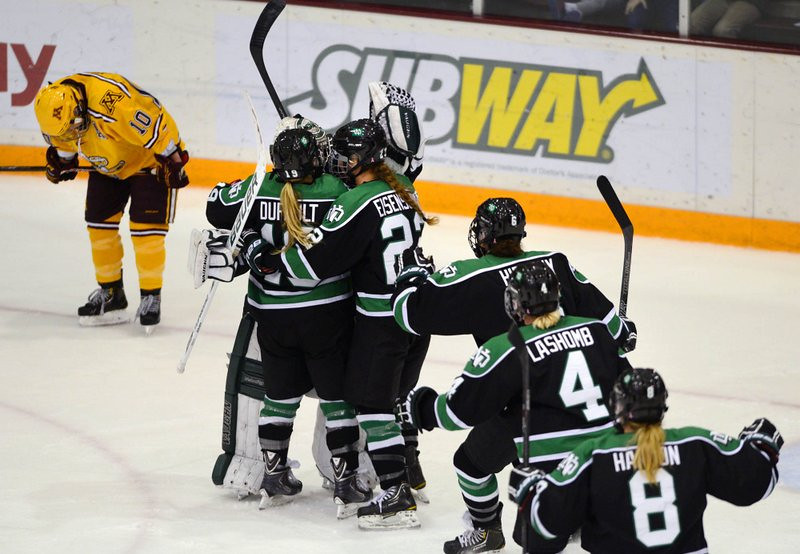 ". <p>1. (tie) GOPHERS WOMEN�S HOCKEY TEAM <p>End of 62-game winning streak may indicate program has hit rock bottom. (unranked) <p><b><a href=\'http://www.twincities.com/sports/ci_24543079/gophers-womens-hockey-streak-ends-at-62-3\' target=""_blank\""> HUH?</a></b> <p>   (Pioneer Press: Chris Polydoroff)"