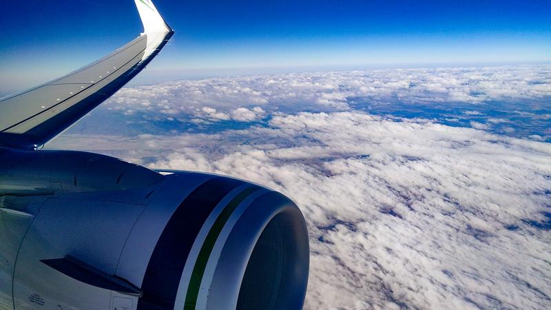 Flying to Alaska