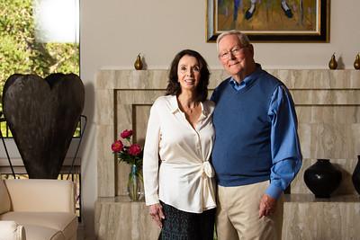Ken & Tammy home portrait