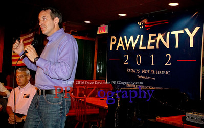 Tim Pawlenty at Machine Shed
