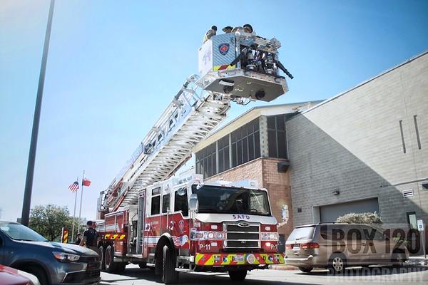 Structure Fires & Small jobs - San Antonio, TX - November 2017