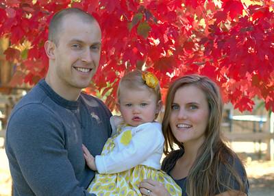 Dani and Chris Family Portraits