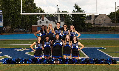 Fall Cheer Team Photos