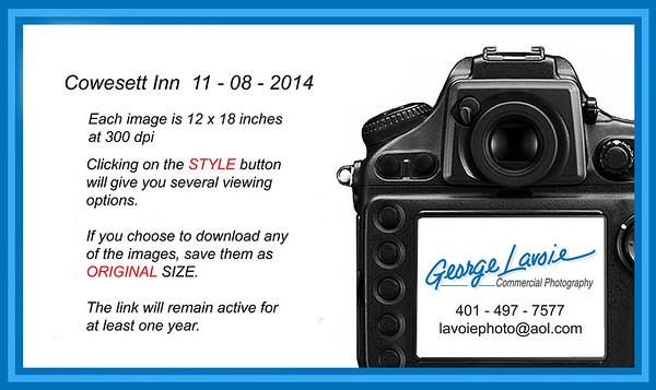 Cowesett Inn 11-08-14