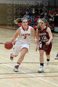 2/27, 2014 Varsity Girls Basketball Eaton Reds vs Frontier Academy