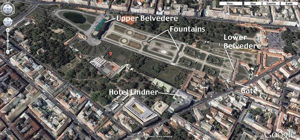 Vienna 1: Belvedere Gardens