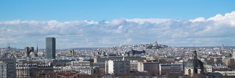 Paris depuis ma fenêtre