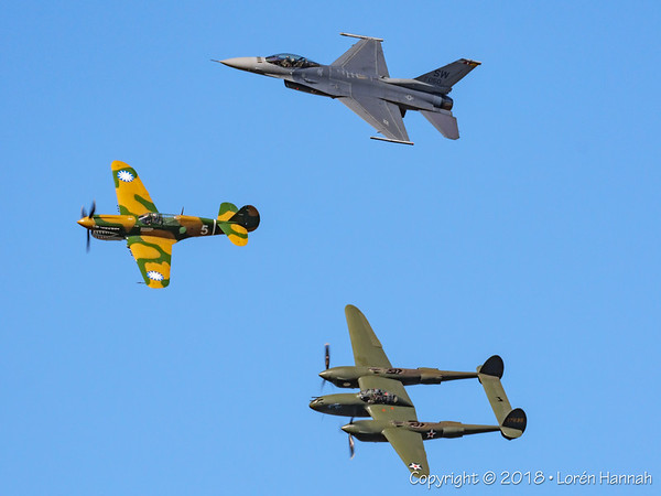 4/12/18 Sun 'N Fun Thursday - Heritage Flight - Lakeland, FL
