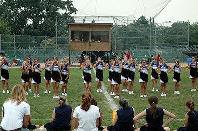 Shelby Lions Football Club - 2006 JV Cheer Squad