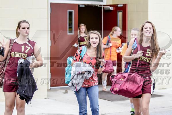 Dorchester Academy Volleyball 09-30-13