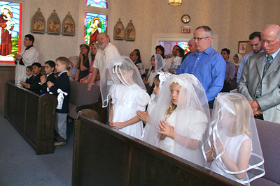 First Holy Communion at the Oratory 2013