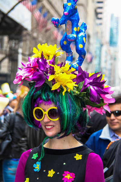 New York, Easter hat parade - March 31, 2013