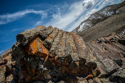 Paul Bunyan wood pile UTAH
