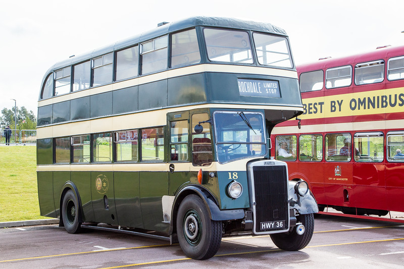 1950 Leyland Titan PD2 with Leyland body