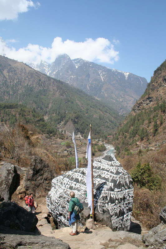 Shrine on way to Phakding.JPG